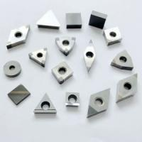 China Customized Size CBN Grooving Inserts 4500 HV Hardness Silver Grey Color on sale