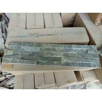 China Natrual grey veneer cladding panel cultured stone stacked stone ledge stone glued wall panel flagestone with corner on sale