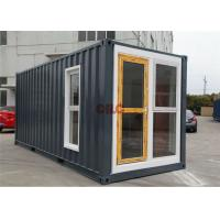 China Durable Furnished Multi - Function Modified Prefab Shipping Container Homes wholesale