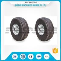 China Various Colors 10 Inch Hand Truck Wheels Abrasion Resistant Comb Pattern wholesale