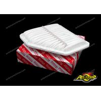 China 17801-31120 Auto Air Filter White For Japanese Car Camry Corolla Rav4 Venza on sale