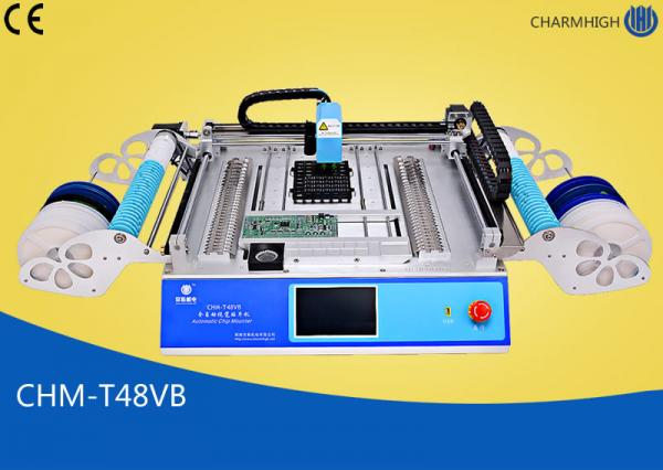 Quality Chmt48vb Table Top Pick And Place Smt Machine With 58pcs Feeders for sale