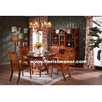 China Full Solid Wood Home Dining Room Furniture Set DM03 wholesale