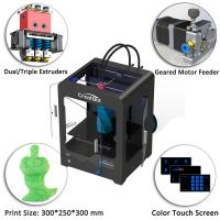 China Easy Operating Metal 3d Printer CreatBot DX With High Precision Touch Screen wholesale