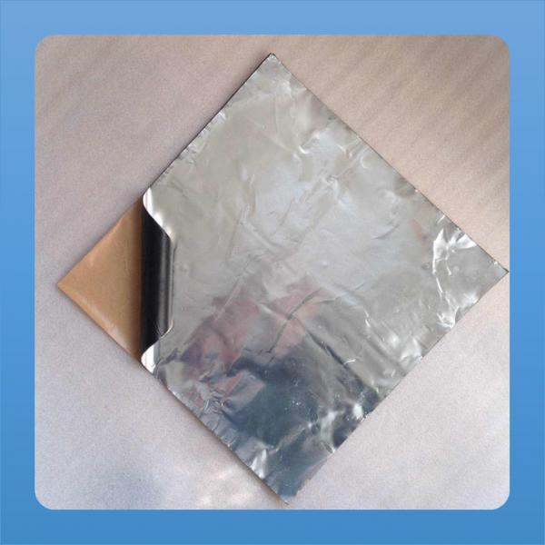 Quality 300x250mm car door black butyl rubber tape loud dampening shockproof tape deadening alimumn silver for sale