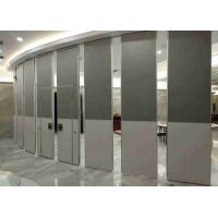 China Fireproof Sliding Wall Panels , Hotel Banquet Office Partition Wall Board Finish wholesale