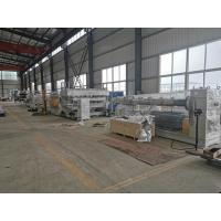 China Advanced Plastic Sheet Extrusion Line For PC Hollow Sheet / Sun Sheet Production wholesale