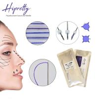China Hipretty best lifting products Moldling cog 6D PDO thread lift thread lift  face for Skin Lifting wholesale