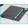 China Fibra ótica do painel de remendo da montagem em rack de OM3 10G, conjunto das fibras do painel 384 da fibra de LGX wholesale