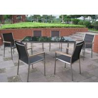 China Patio Glass Table, Garden Dining Chair wholesale