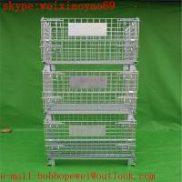 China storage pallet  cage/security cage /metal storage cage/steel storage cabinets/steel sheds  from HENG YOU factory on sale