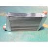 China Échangeur de chaleur en aluminium de haute qualité d'aileron de plat de post-refroidisseur de refroidisseur intermédiaire de refroidisseur d'air de charge de refroidisseur intermédiaire de Turbo wholesale