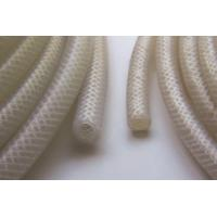 China Extruded Braid Reinforced Silicone Rubber Tubing , High Pressure Silicone Braided Hose For Food Machine on sale
