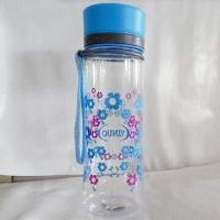 China Plastic Water Bottle with Dust Cap and 480mL Capacity, for Sports Drinking wholesale