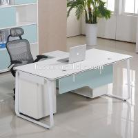 China Korea style modern computer furniture home office chipboard computer desk wholesale