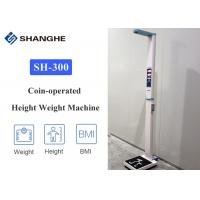 China Intelligent Smart Body Weight Scales , Easy Carrying Healthy Weight Scale With Printer wholesale