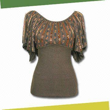 Knits and handdyed garments from
