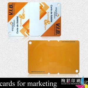 China CMYK Glossy PVC Smart Card wholesale