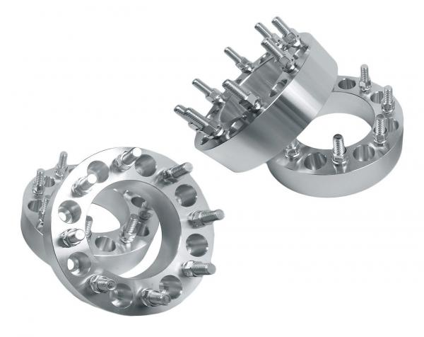 Quality Silver Dually Car Wheel Spacers Non Hubcentric Type For Wheel Adapters for sale