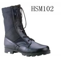 China ALTAMA classic style black 8 inch breathable skidproof panama sole military boots wholesale