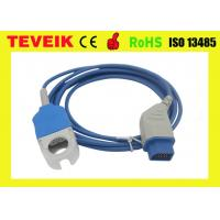Buy cheap 2.4m Length Spo2 Adapter Cable Compatible JL - 900P K931 Nihon Kohden With Blue Color from wholesalers