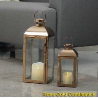China European Wooden Lights Candlestick Crafts Candle Stand Lantern for Summer Party Decoration wholesale