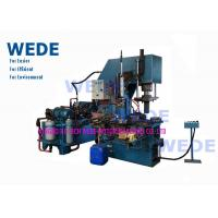 Four Stations Automatic Die Casting Machine , Ceiling Fan Hot Die Casting Machine