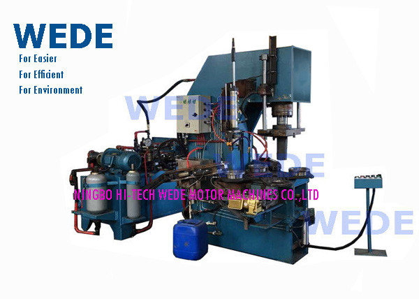 Quality Four Stations Automatic Die Casting Machine , Ceiling Fan Hot Die Casting Machine  for sale