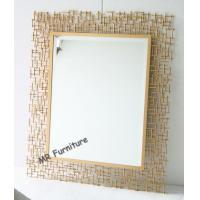 China Rectangular Metal Mirror Wall Decor 70 * 95cm Size Quickly Delivery wholesale