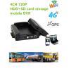 China 720P Resolution Full HD Vehicle DVR With 3 / 4G GPS WIFI G- Sensor , 10V - 36V Power wholesale
