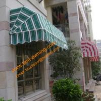 China Retractable Elegance Door Entrance Window Manual  French Awning wholesale