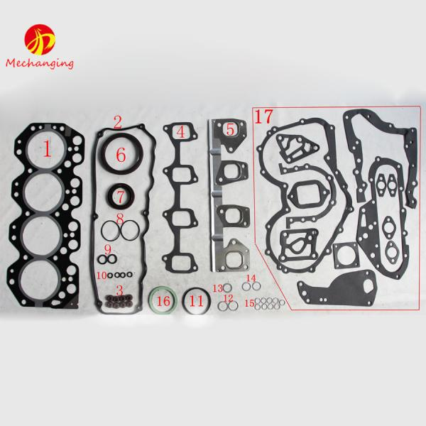 Quality 14B For TOYOTA DYNA 200 Platform/Chassis Diesel Engine Parts Auto Parts Intake Exhaust Manifold Engine Gasket 17171-5601 for sale