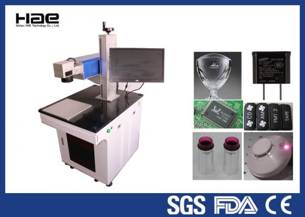 Quality Air Cooling UV Laser Marking Machine 800W For Metal / Non Metal Marking for sale