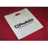 China LDPE Material Clothing Plastic Packaging Bags With Handle Custom Logo Printed wholesale