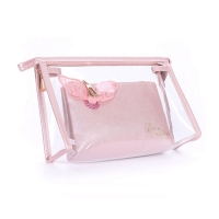 Buy cheap Eco Friendly Waterproof PVC Transparent Makeup Washing Bags for Travel from wholesalers