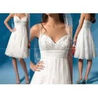 China hot sale short lace wedding dress MR0051 wholesale