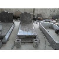 China Classic Granite Memorial Headstones Carved / Custom Surface SGS Approved wholesale