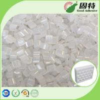 Yellowish EVA Hot Melt Adhesive Packaging Pellets For Pearl Cotton Positioning