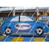 China Blue Pvc Inflatable Model Car Display Commercial Activity Space on sale