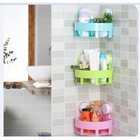 China Wall Mounted Household Storage Racks , ABS Bathroom Kitchen Rack wholesale