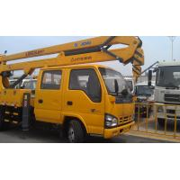 China 96kw Platforms Boom Lift Truck Horizontal Reaches Up To 18 Meters wholesale