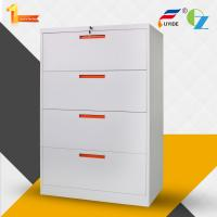 China Environmental factory price 4 drawer knock down steel lateral file cabinet on sale