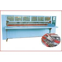 China Thin Blade Slitting Creasing Machine, Rotary Slitting + Scoring, with Safety Cover wholesale