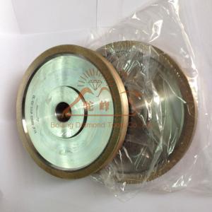 China CNC pencil shape flat shape diamond edging wheels for glass machine on sale