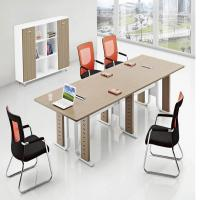 China Luxury Solid Wood Veneer Office Conference Table Scratch Resistant wholesale