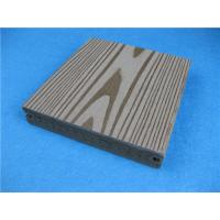 China Watertight And Etch-proof WPC Timber Flooring Decking With Wood Look on sale