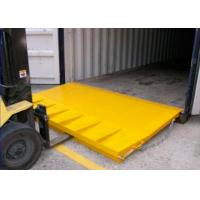 China Custom Folding Mini Mobile Yard Ramp For Container Loading Ramps wholesale
