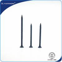 China Zinc Plated Self Drilling Screw , Self Tapping Screws 2mm-100mm Length wholesale
