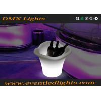 Buy cheap LED Waterproof  Night Club Lighting Illuminated Rechargeable Plastic Led Ice Bucket from wholesalers