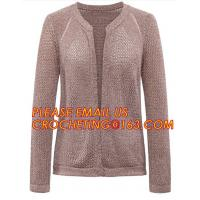 China Hot Sale Professional Sweater Cardigan Women, V-Neck Two-Pocket Cashmere Cardigan Sweater for women wholesale